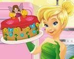 Em Bolo de Fada da Tinker Bell, Tinker Bell está preparando um delicioso bolo para suas amigas fadas. E você pode junte-se a ela e aprender os segredos de como prepara um fantástico bolo de fadas. Divirta-se com Tinker Bell!