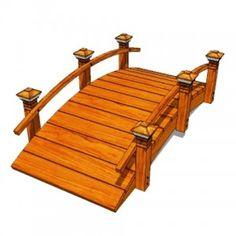 ¿Cómo construir un puente Cómo construir un puente del jardín y una pasarela de arco bajo.