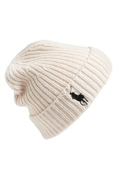 Polo Ralph Lauren Knit Beanie available at  Nordstrom Polo Beanie b10cefde4ed