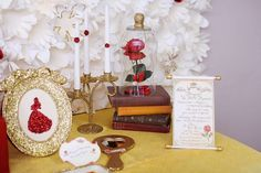 Beauty and the Beast Birthday Party Ideas | Photo 4 of 104 | Catch My Party