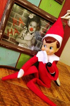 Elf On The Shelf Ideas, 2013 Christmas  Elf On The Shelf Ideas for kids, Elf on The Shelf Ideas – Rudolph Nose on Your Family Photo