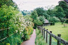 Beatrix Potter's Garden at Hill Top, Near Sawrey, Cumbria Lake District, England, UK