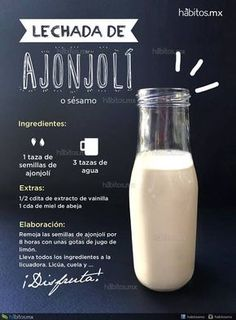 Veggie Recipes, Mexican Food Recipes, Vegetarian Recipes, Healthy Recipes, Healthy Juices, Healthy Smoothies, Healthy Drinks, Enjoy Your Meal, Vegan Milk