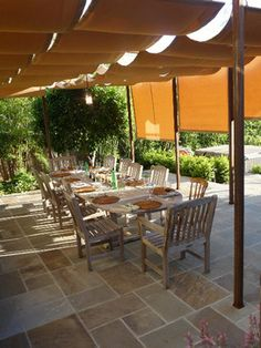 Sun Shades At Dining Terrace   Traditional   Patio   San Francisco   MAD  Architecture