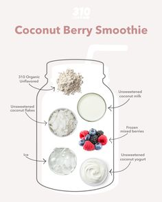 The simplest ingredients can have the biggest flavors and that is certainly the case with this Coconut Berry Smoothie! With notes of tart berries and nutty coconut, it's quick and easy to make for a yummy snack, breakfast, or healthy dessert.