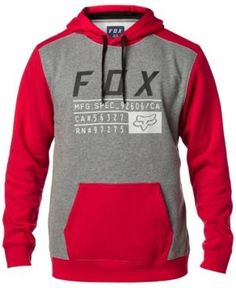 Fox Mens Tracked Sherpa Zip Fleece Fox Young Men/'s