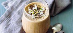 Creamy Mocha Coffee Smoothie! YUM!
