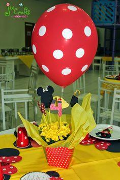 Ju Crafts!: Mesa dos convidados - Aniversário da Marcella - 4 ... www.jucrafts.blogspot.com.br Minnie decoration