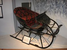 Late 19th century Cutter sleigh.  We've all lost out on something by not continuing to use the sleigh somehow.