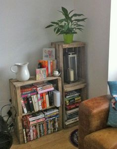 Wooden-crate-DVD-storage.jpg 600×763 pixels