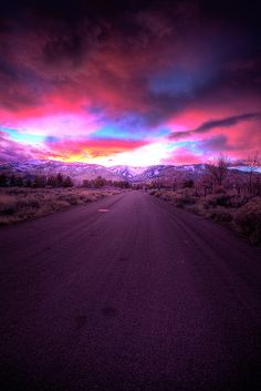 Northern Lights - Road to heaven - HDR