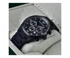 Emporio Armani Watch Black Color Original Quality For Sale Cash On Delivery