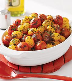 Herb-Roasted Cherry Tomatoes