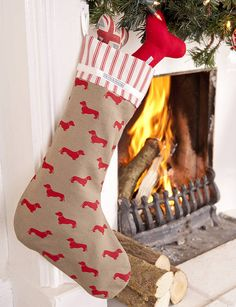 dog lover's christmas stocking by mutts & hounds | notonthehighstreet.com good idea
