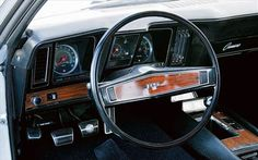 | 1969 Chevrolet Camaro Dash View