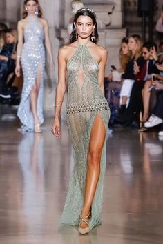Georges Hobeika | Haute Couture Spring Summer 2018 | Look 35