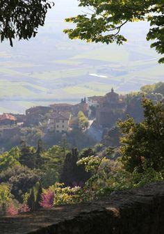 View in Cortona, Italy - Pam Wertz took this beautiful picture