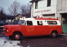 1960 Siebert Ford F-series Millgrove NY Ambulance