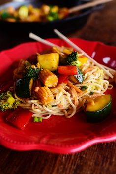 This gorgeous, luscious stir-fry will knock your socks off! It's so easy to make and is big on flavor, and here's my favorite thing about it: You can prep all the veggies and make the sauce up to 24 hours in advance, and just keep them in separate containers in the fridge. Then, when you get home after a crazy-long day, all you have to do is heat the oil in a skillet and you'll have dinner within about 12.112983474 minutes.