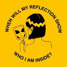 #aesthetic #yellow #alien #art