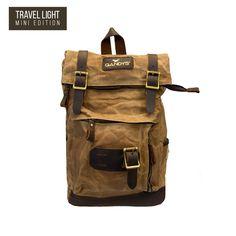 cd5575778b64 Backpacks. Sand Waxed Authentic Baby Bali Backpack. Gandys London