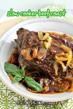 Slow Cooker Beef Roast | Beef Hoagies is a classic, comfort food recipe that is deliciously hearty & flavorful! It's a great cook once, eat twice strategy. #roast #slowcooker #crockpot #beef Roast Beef Hoagie, Slow Cooker Roast Beef, Cooks Slow Cooker, Best Slow Cooker, Slow Cooker Recipes, Crockpot Recipes, Cooking Recipes, Fun Easy Recipes, Quick Easy Meals