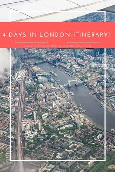 Visiting London for a few days? Here's a great 4 day London Itinerary! London is the first stop on our 2 week trek across Europe...