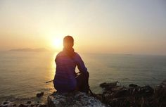 #RESTFUL #PLACES looking over the ocean at #Sunrise. Bible Verses for the New Year   Guideposts