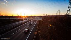 Freeway Long Exposure by Schwarzlmüller Photography on Long Exposure, Behind The Scenes, Landscape, Photography, Wels, Fotografie, Photography Business, Photo Shoot, Fotografia