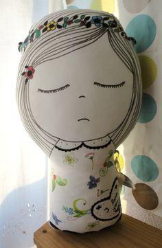 hand drawn dolly