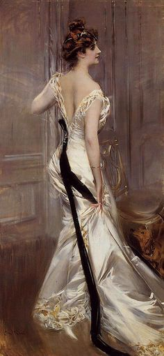 "Giovanni Boldini | ""The Black Sash"""