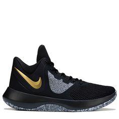 Nike Men s Precision 2 Basketball Shoes (Black Gold) Gucci Shoes 18afa8ec4