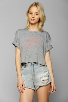 Urban Renewal Gym Class Cropped Tee - Urban Outfitters