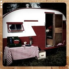 Jay's dream is traveling north america in an Airstream. My dream is finding an old camper and restoring it.