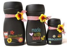 Nescafe bottle do-over Plastic Bottle Crafts, Diy Bottle, Wine Bottle Crafts, Mason Jar Crafts, Bottle Art, Coffee Jar Crafts, Coffee Jars, Bottles And Jars, Glass Jars