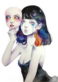 Kazel Lim - Watercolor Illustrations by Kazel Lim  <3 <3