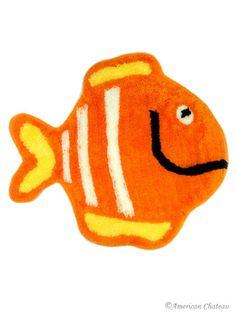 Fish Kids Bathroom Rug