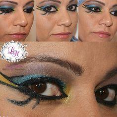 Make de baile de carnaval! Me inspirei na Katy Perry no clipe dark horse! #mua #makeartist #makebylilimello #makedecarnaval #makebyme #darkhorse #katyperry #egípcia