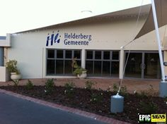 NG Helderberg Gemeente Lettering, Signs, Outdoor Decor, Home Decor, Decoration Home, Room Decor, Shop Signs, Drawing Letters, Home Interior Design