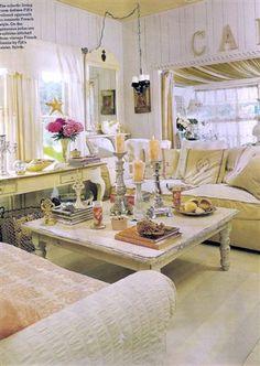 Fifi's cottage living room