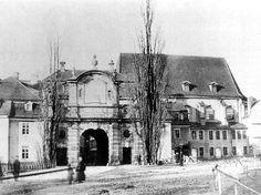 Leipzig Alte Peterskirche 1860 Süd
