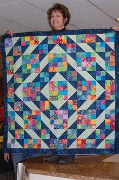 Planning where the blocks will go on the Sweety Pie quilt – Crochetfornovices… – Handwerk und Basteln Scrappy Quilt Patterns, Batik Quilts, Jellyroll Quilts, Scrappy Quilts, 16 Patch Quilt, Quilt Blocks, Half Square Triangle Quilts, Square Quilt, Quilting Projects