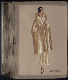 ACTEON Paris ES 1932 © Patrimoine Lanvin. #Lanvin125