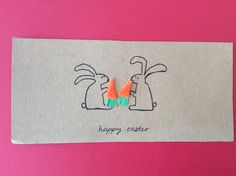 Eastercard with bunnies