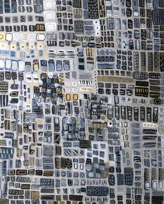 ORIGINAL SOLD Saatchi Art: The City Never Sleeps Painting by Melanie Biehle