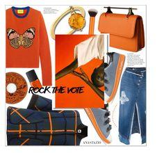 """Anastazio-Rock the Vote in Style"" by anastazio-kotsopoulos ❤ liked on Polyvore featuring Steve J & Yoni P, M Missoni, Gucci, Anastazio, adidas Originals and NARS Cosmetics"