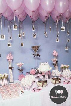 Lilac balloon theme
