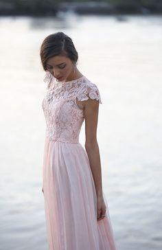 Tania Olsen Designs, pink 'Latitia' bridesmaid dress // See more Tania Olsen Designs www.modernwedding.com.au