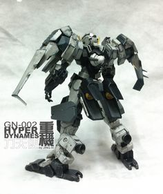 Gundam 00 力天使﹣重機 改造:Adam Wong (京夕)