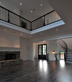 Charlotte Custom Home Builder, P. HughesUnexpected Treasure - Charlotte Custom Home Builder, P. Luxury Homes Dream Houses, Dream House Interior, Dream Home Design, Modern House Design, My Dream Home, Appartement New York, House Ideas, Dream House Plans, Barn House Plans